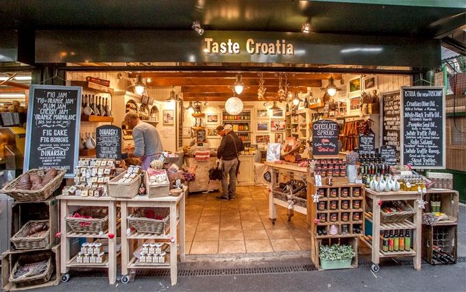Borough Market shop, London, SE1